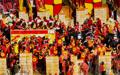 Una giornata allo storico Carnevale d'Ivrea